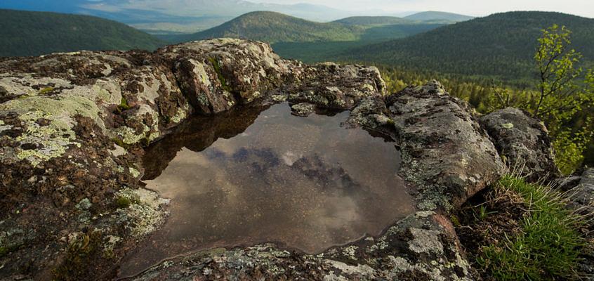 Хребет Сухих гор  – пеший маршрут