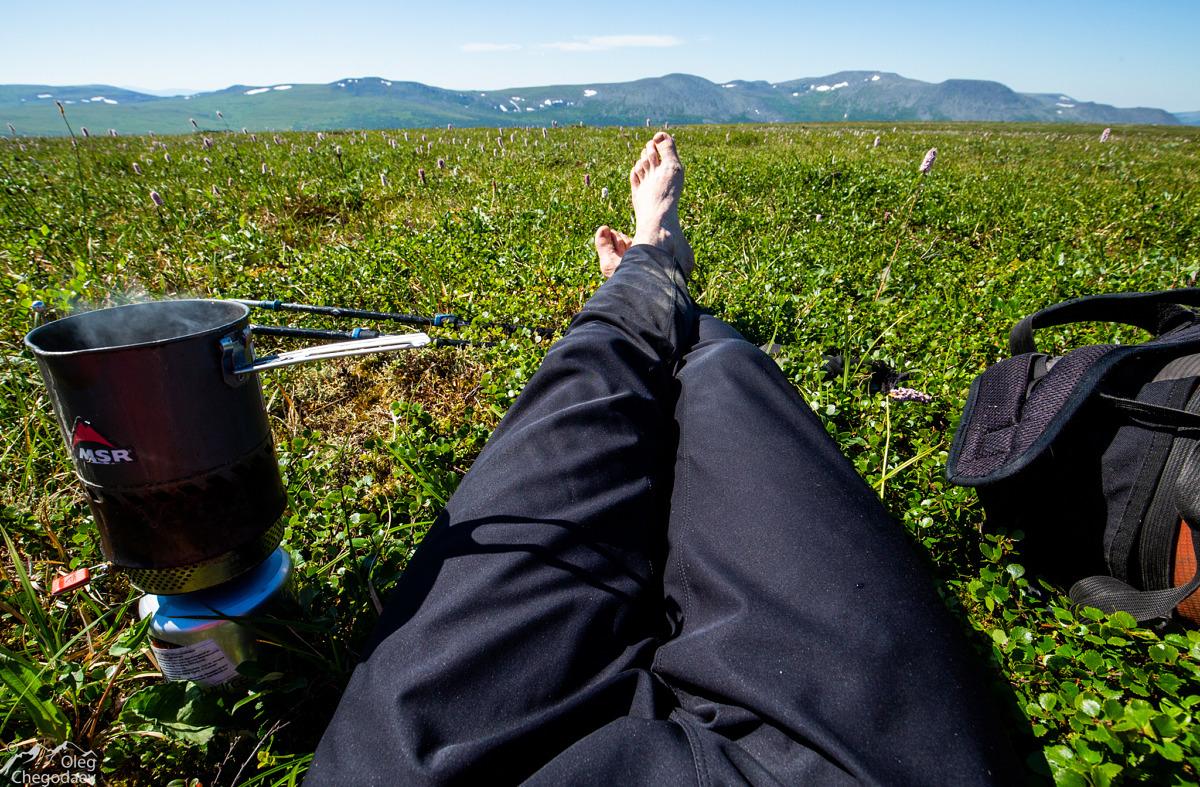 Обеденный перерыв на Северном Урале