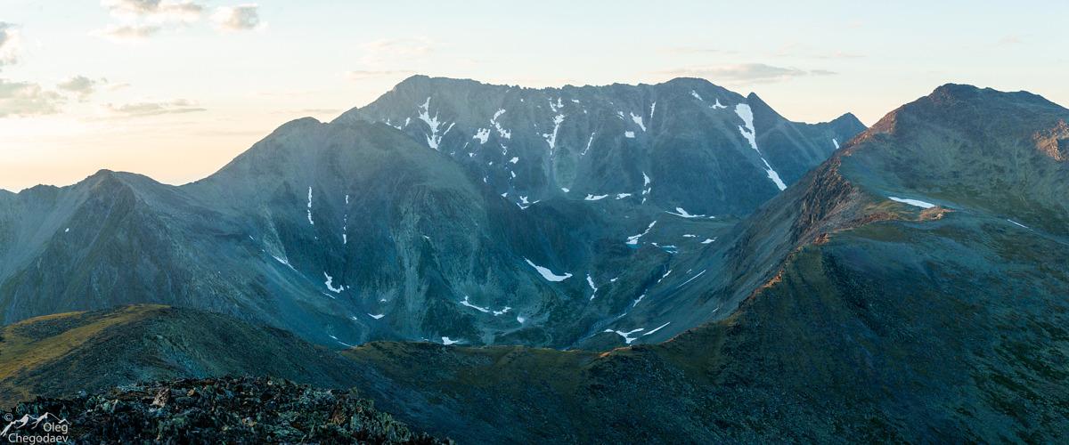 Гора Тельпосиз вид с юга