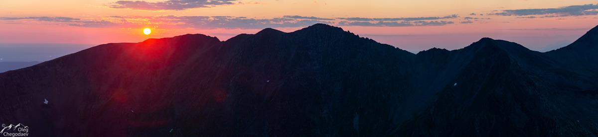 Закат над Тельпосиз