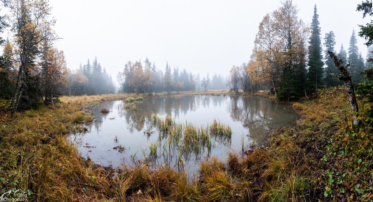 Озеро на хребте Машак