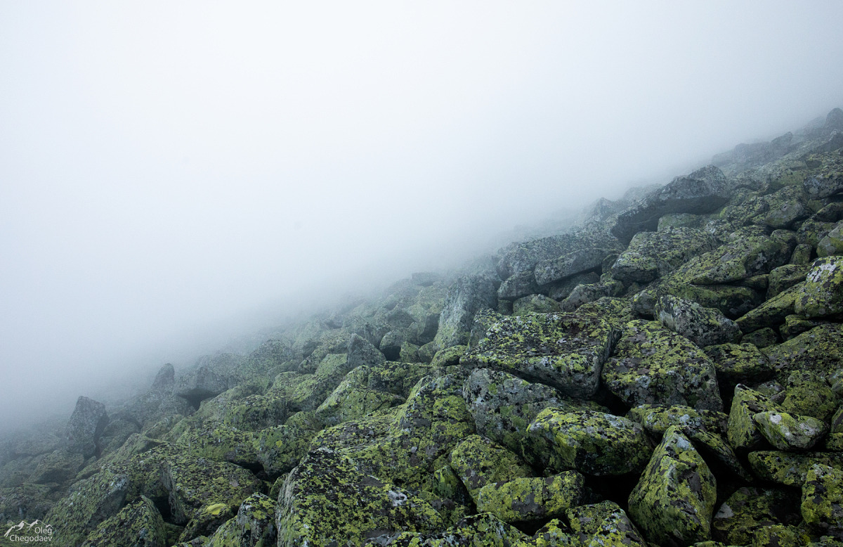 на восточном склоне горы Ямантау