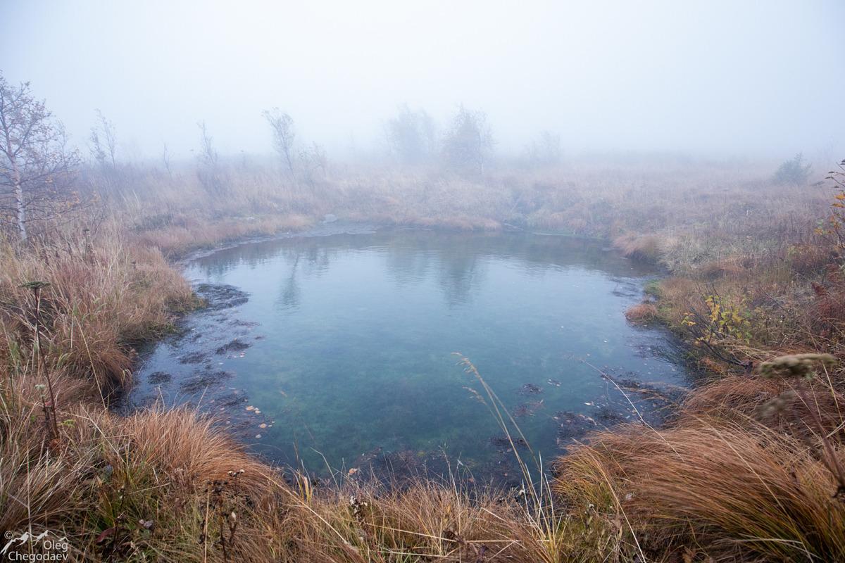 Озеро на седловине между Ямантау и Малым Ямантау (Куянтау)