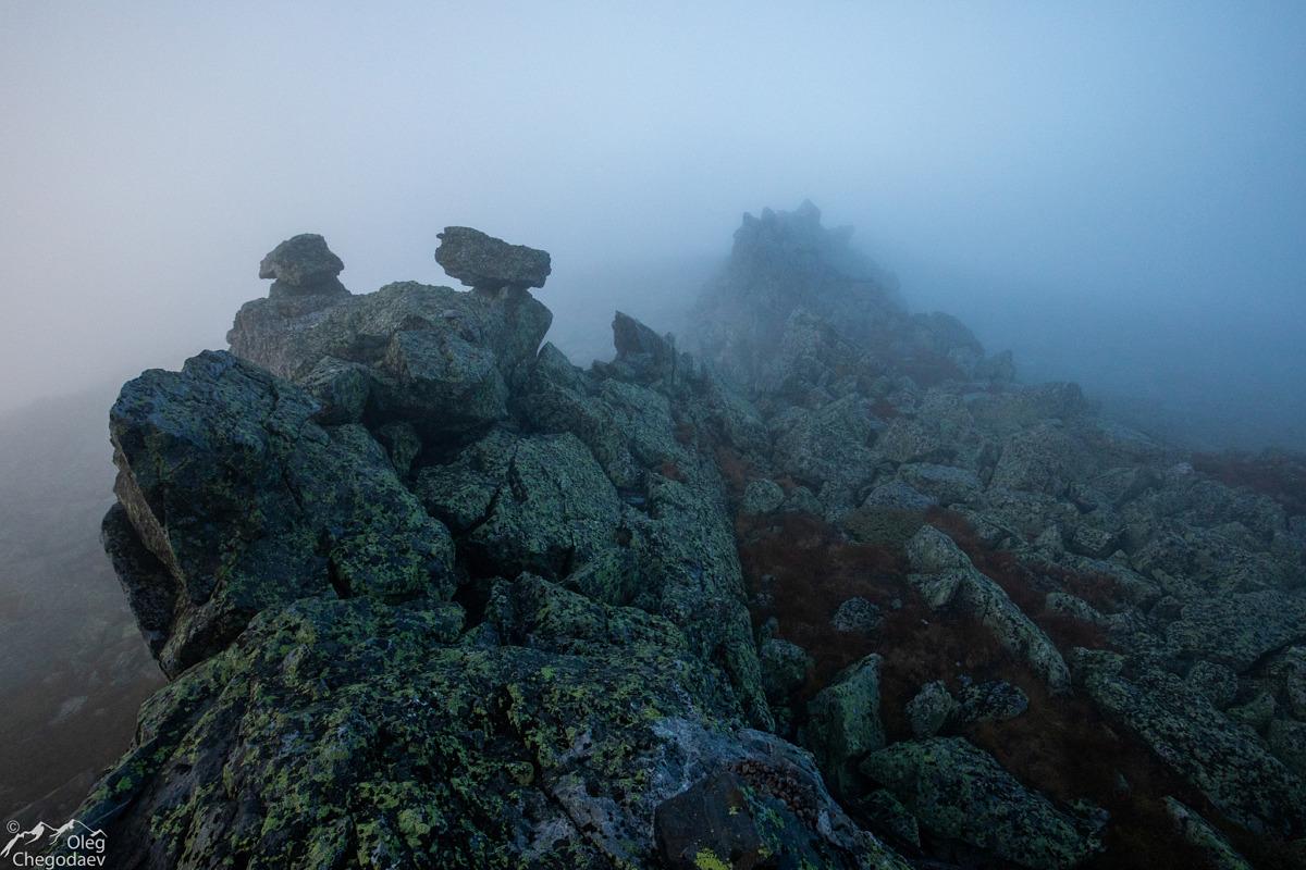 Вершинный гребень Малого Ямантау (Куянтау)