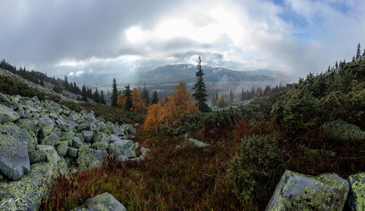 Тундры на склоне горы Малый Ямантау