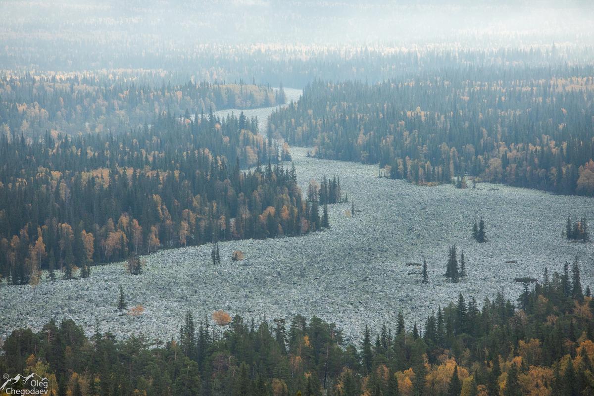 Каменные реки Южного Урала