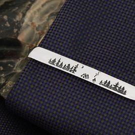 """Зажим для галстука """"Тайга"""""""