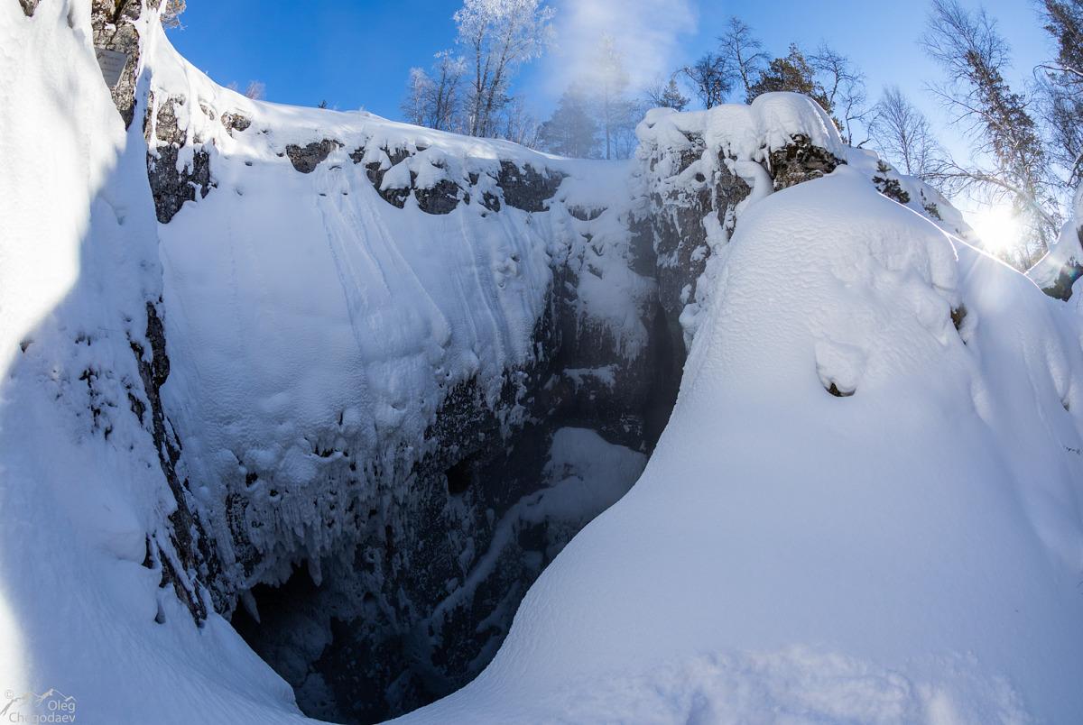 Пещера Кутук-Суман зимой