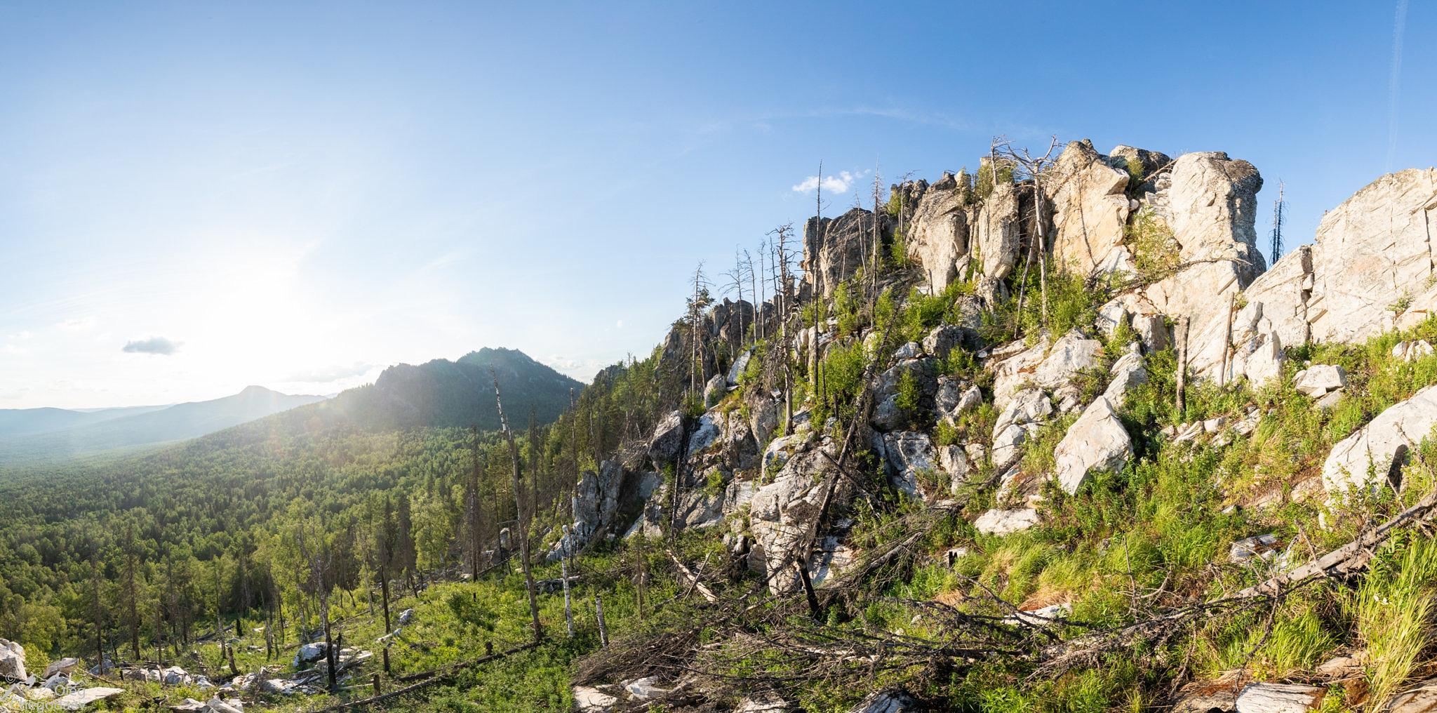 Вершина горы вторая Малиновая