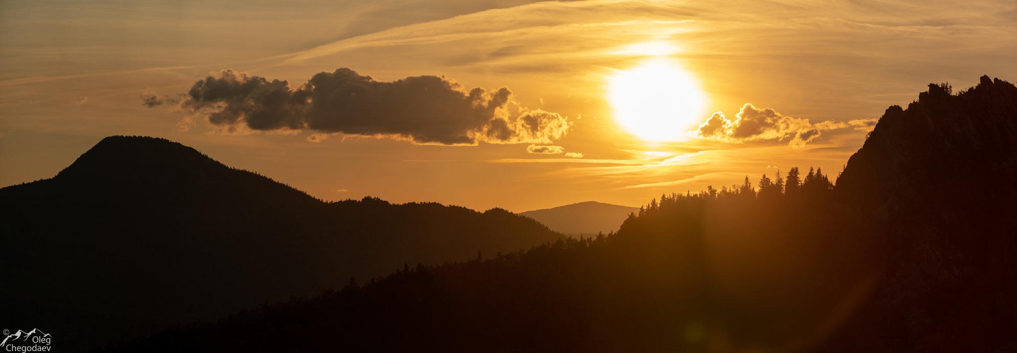 Закат над Малиновой