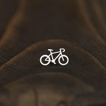 """Серьга active girl  """"Велосипед"""""""