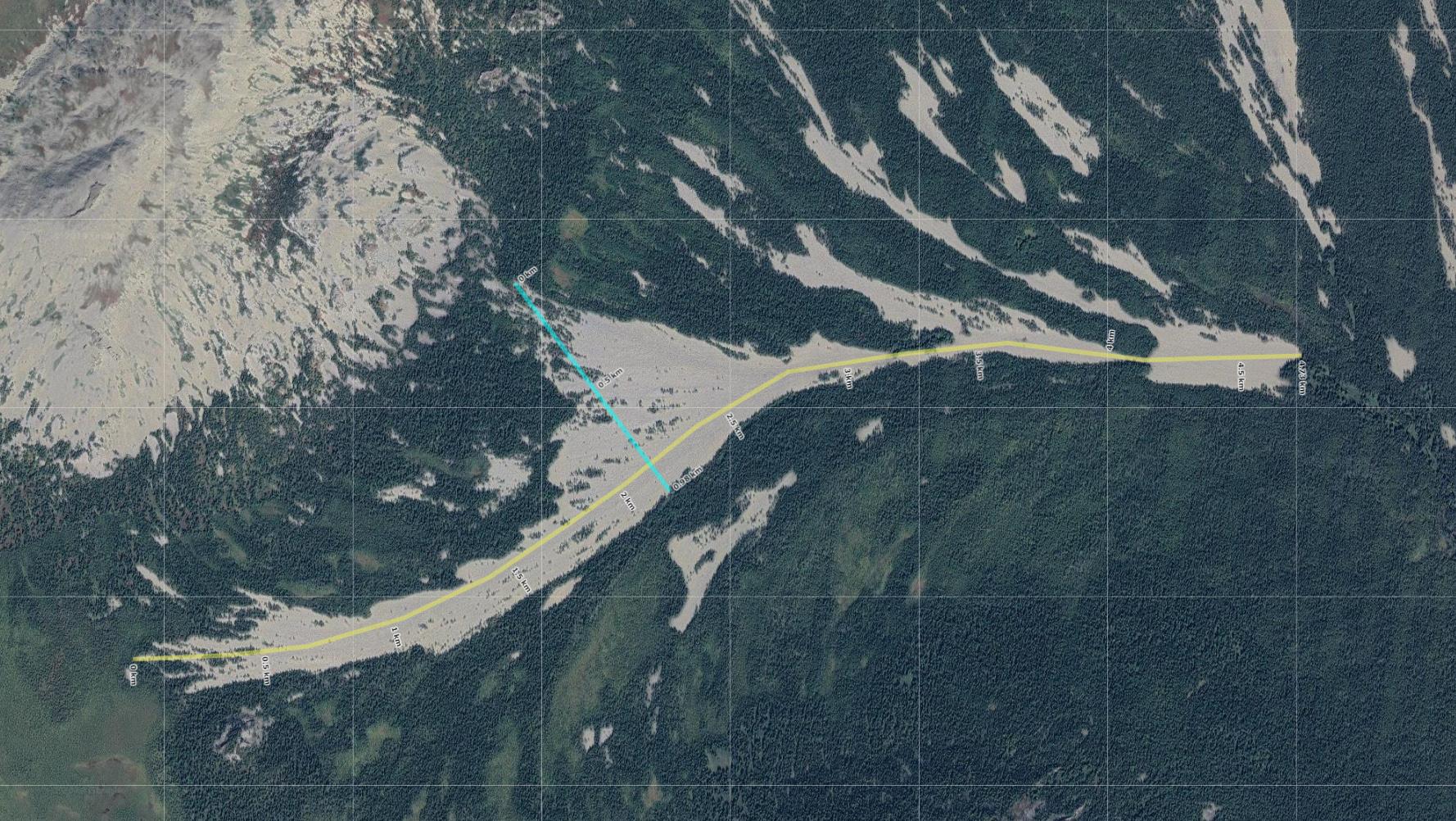 Ямано-Шикташская курумная река