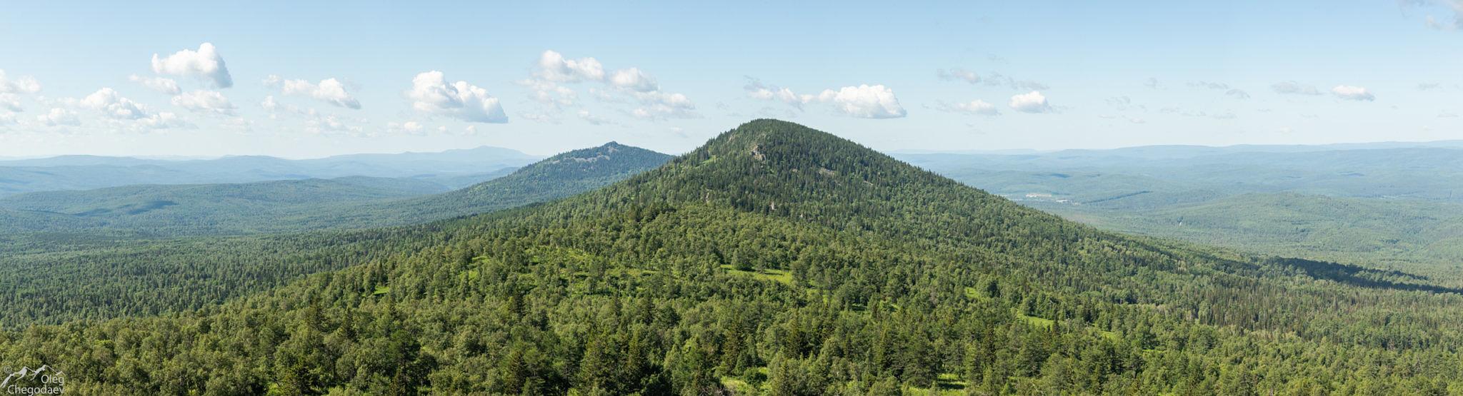 Горы Дунансунган и Каинтюбе