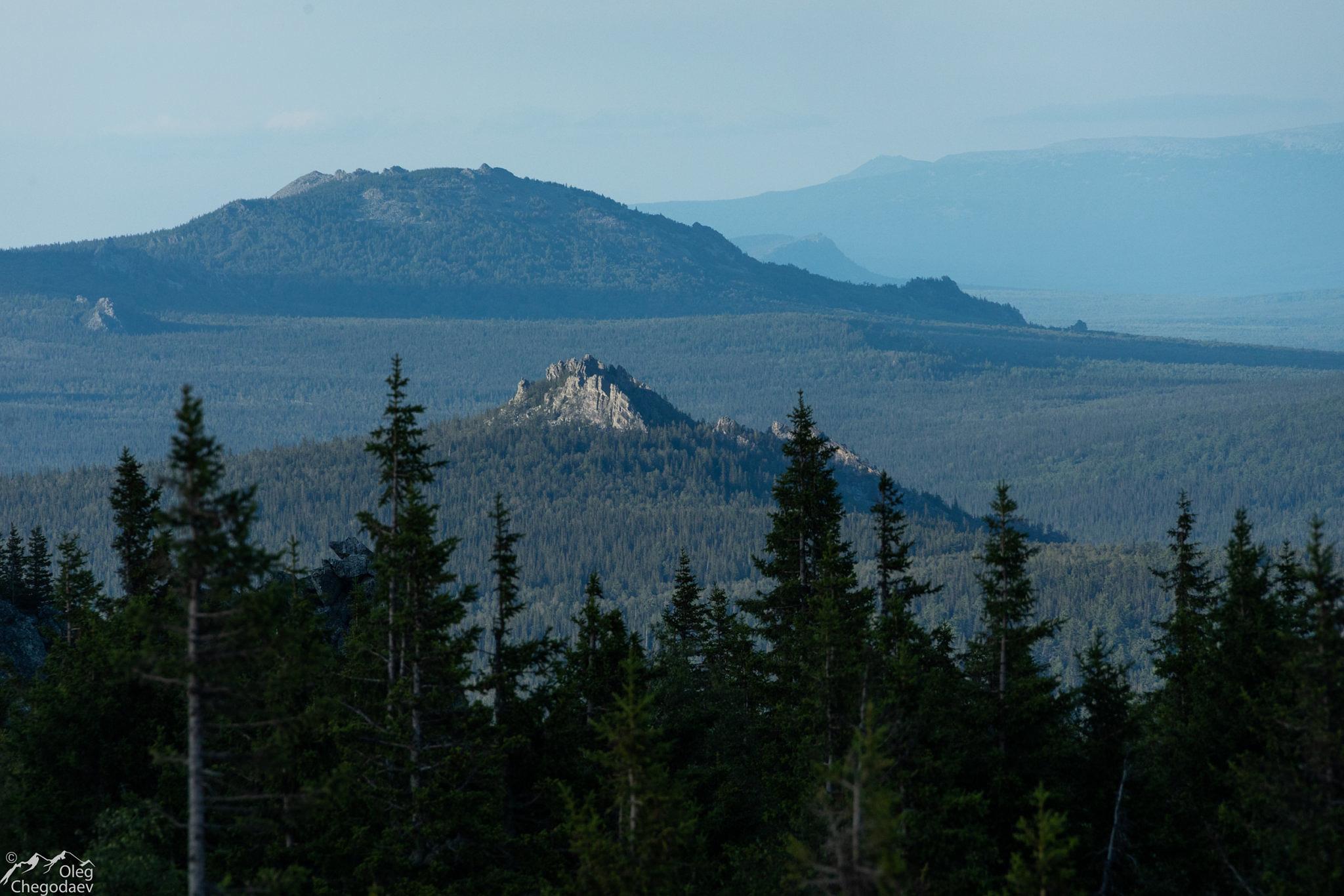 Гора Кокуй с вершины Шикташ