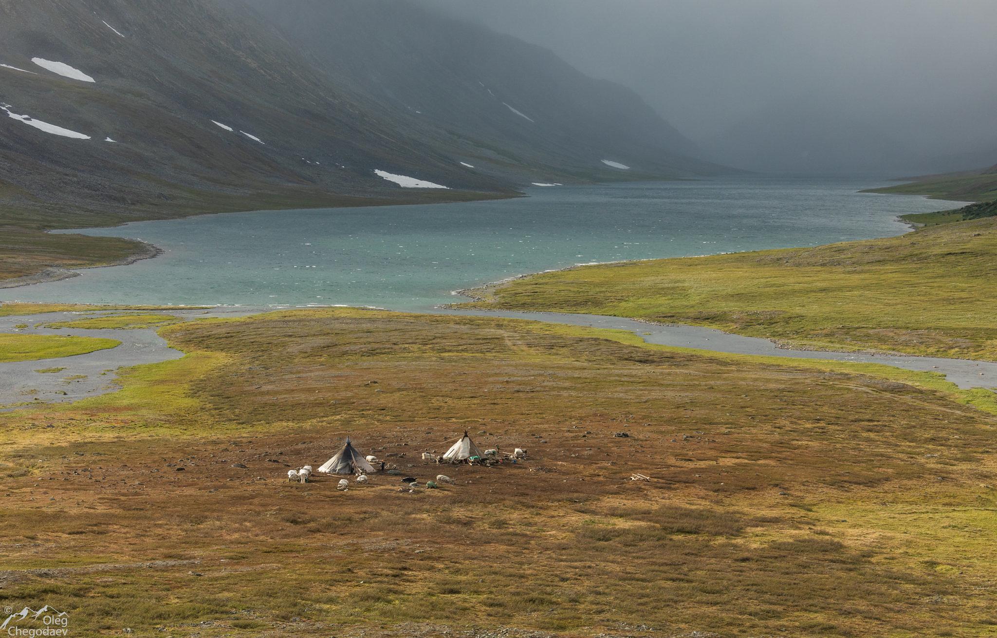 Стойбище на озере Малое Щучье