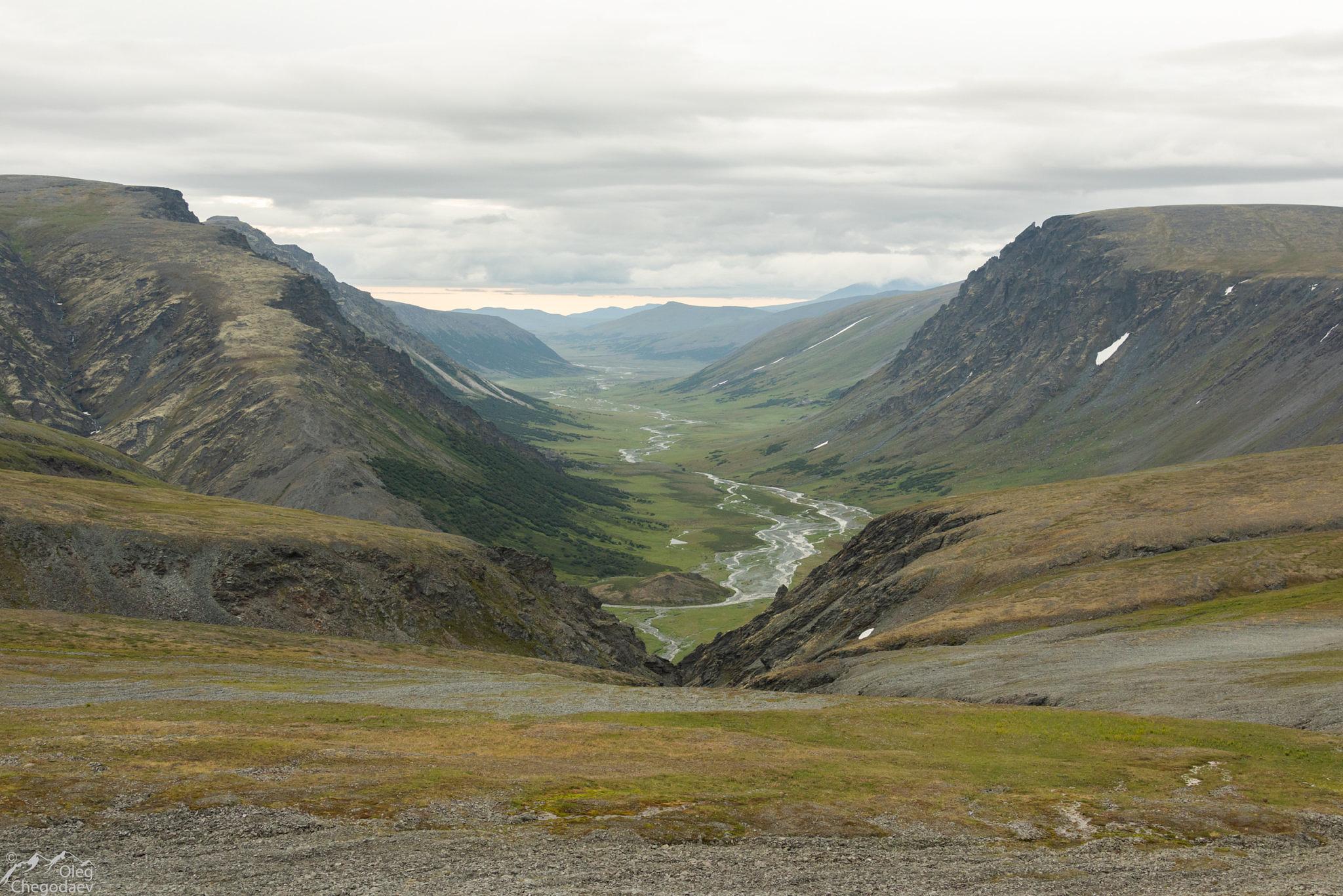 Вид в долине реки Немуръяган