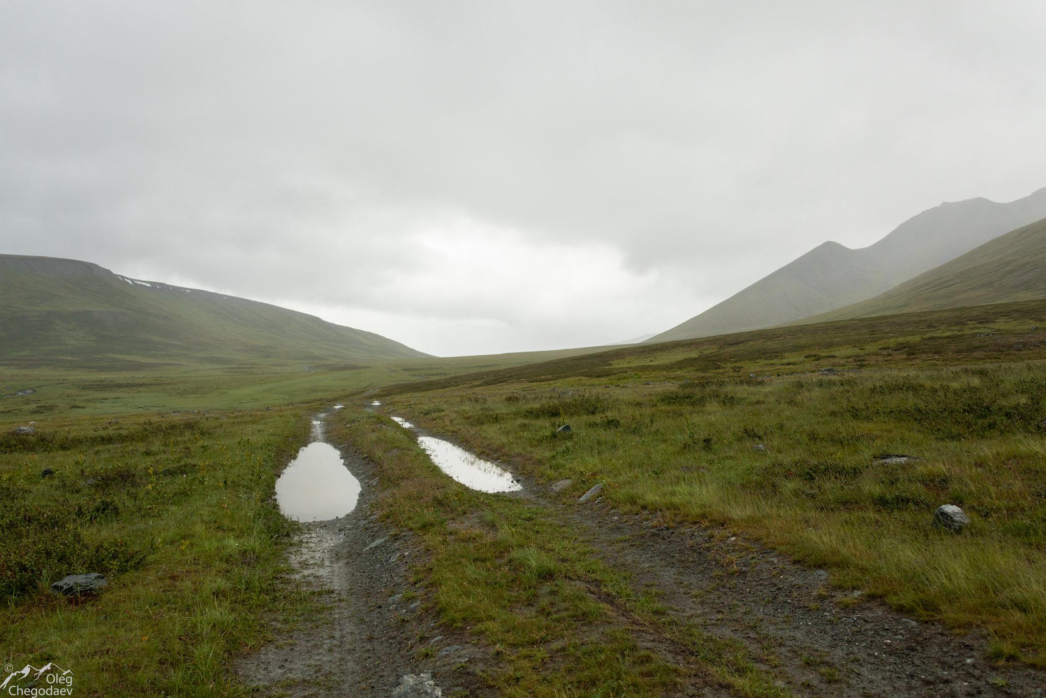 Дорога по долине реки ВоргаШор