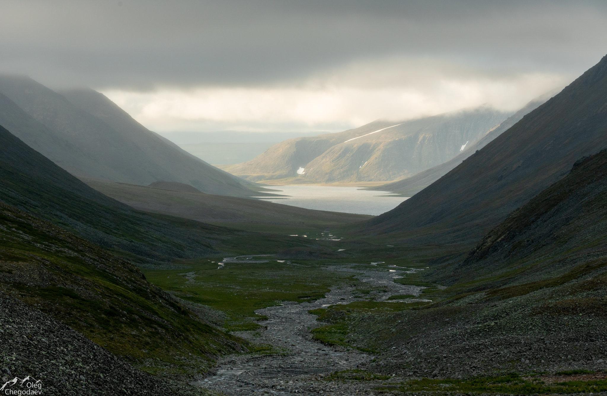 Озеро Малое щучье, с севера