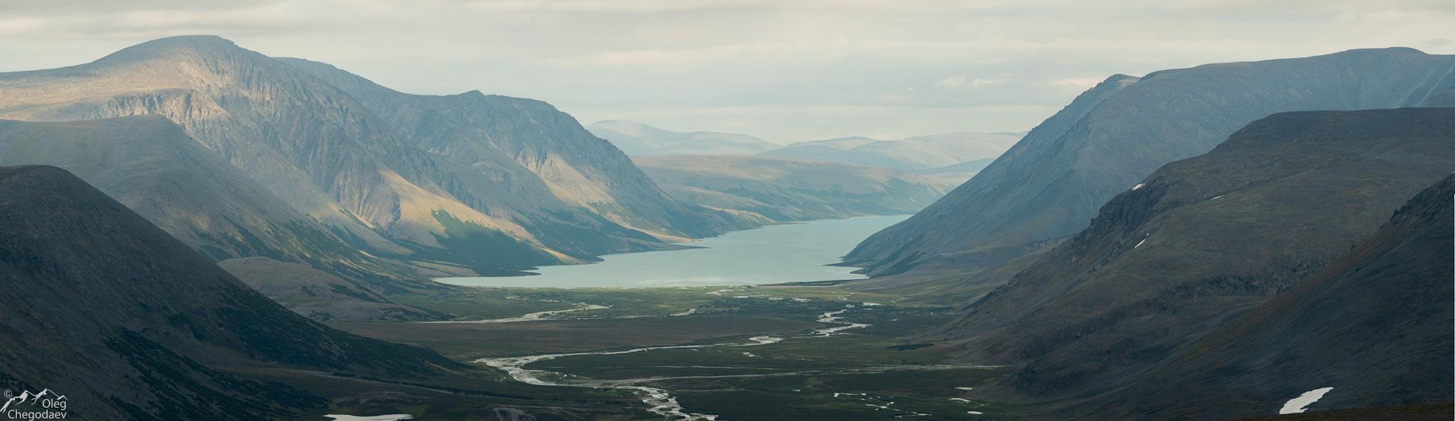 Озеро Большое Щучье с севера