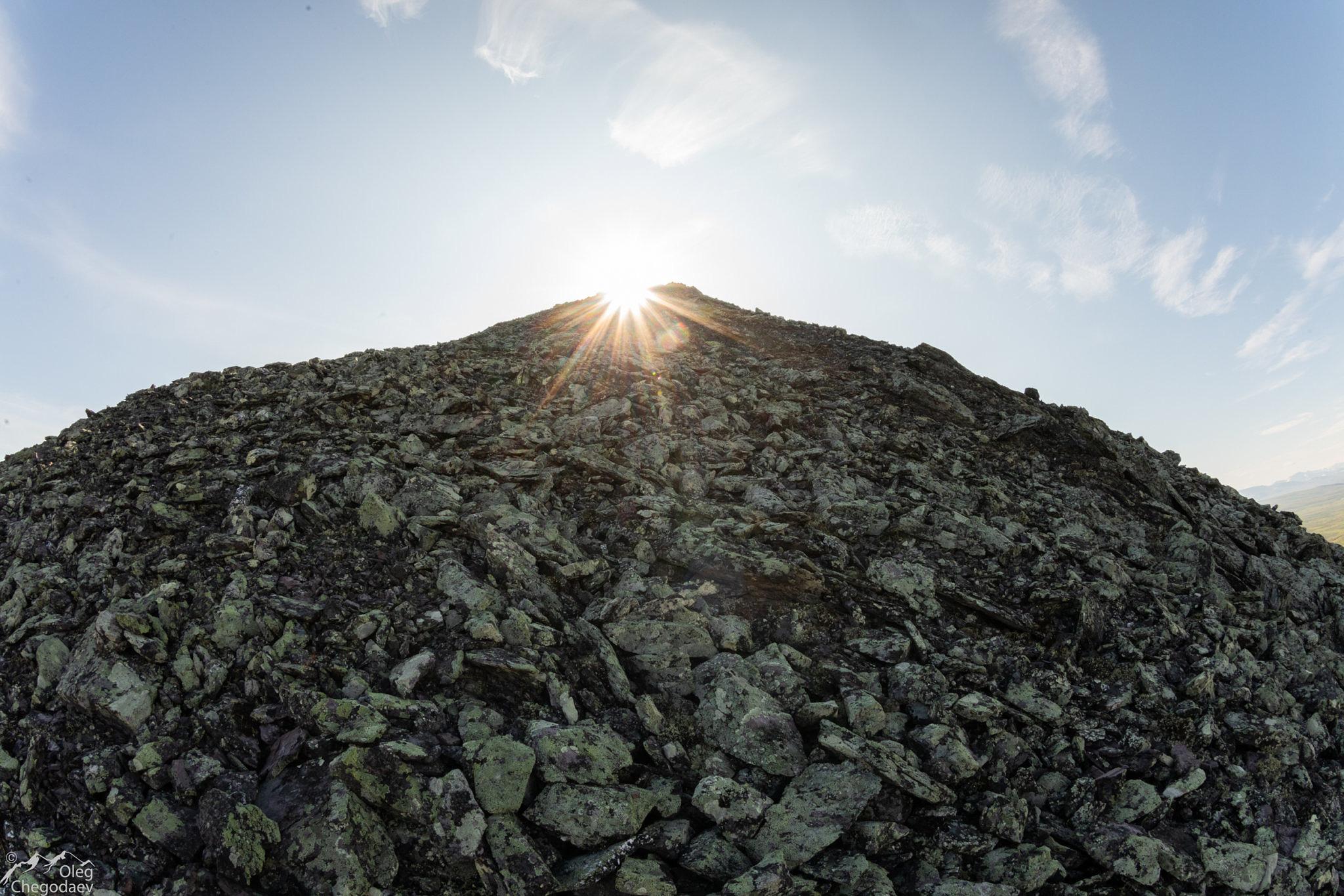 Подъем на гору Малый Манясей