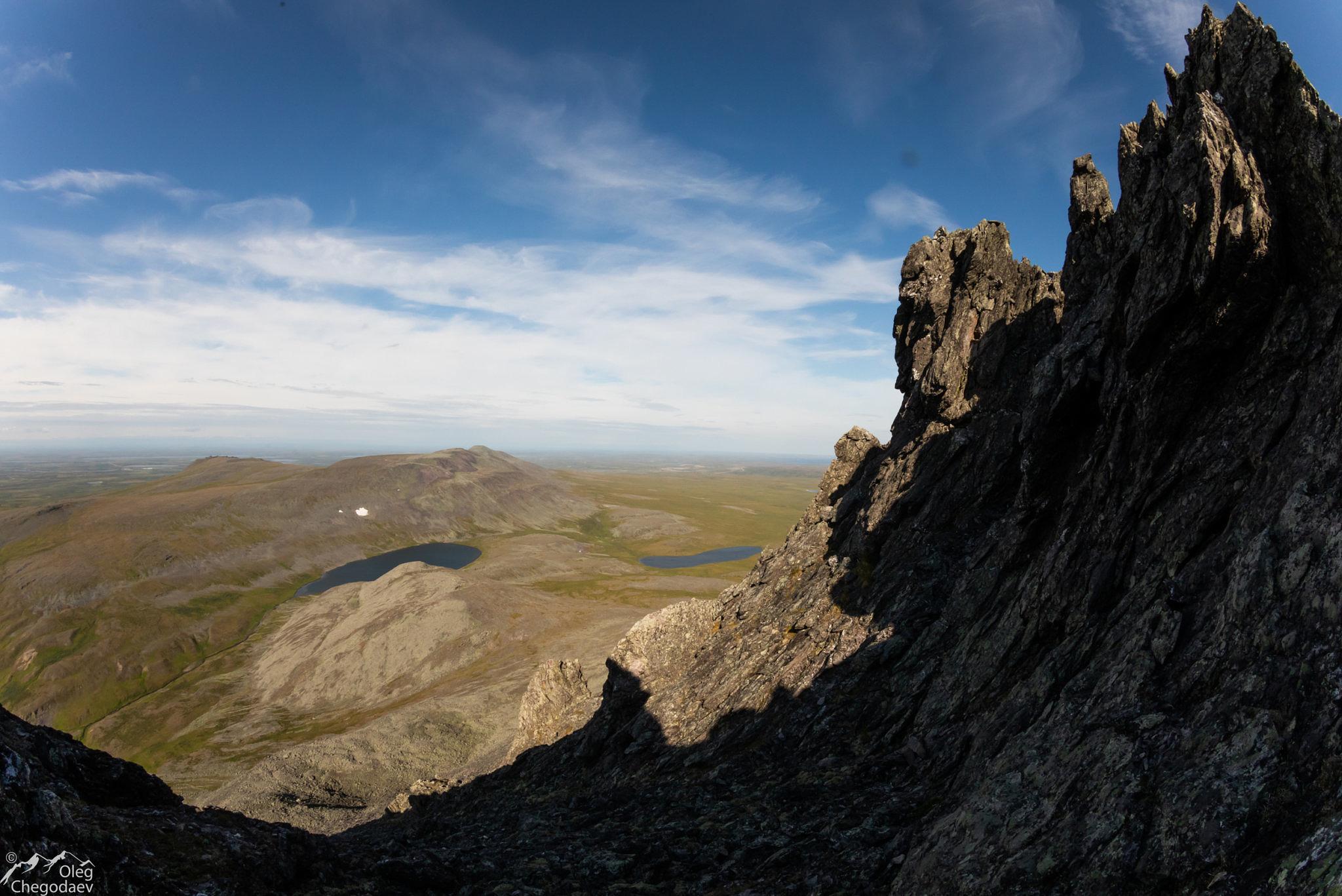 Гора Малый Манясей вид на Константинов Камень