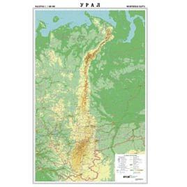 Карта Урала (настенная)