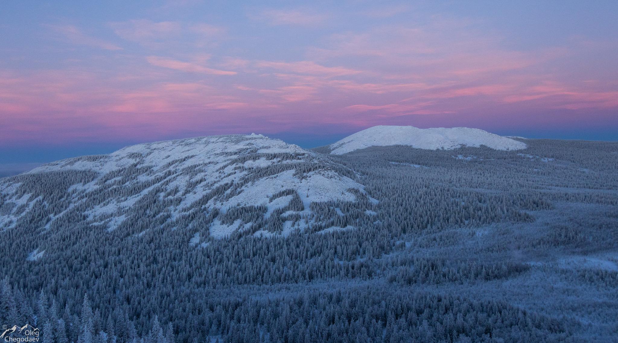 Хребет Зигальга, вершина 1371 и Мохнатый Дол