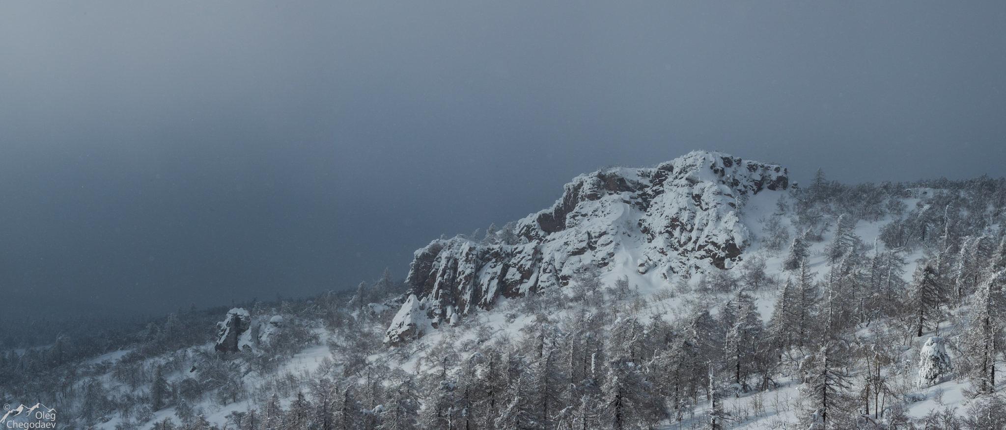 Вторая вершина горы Масим