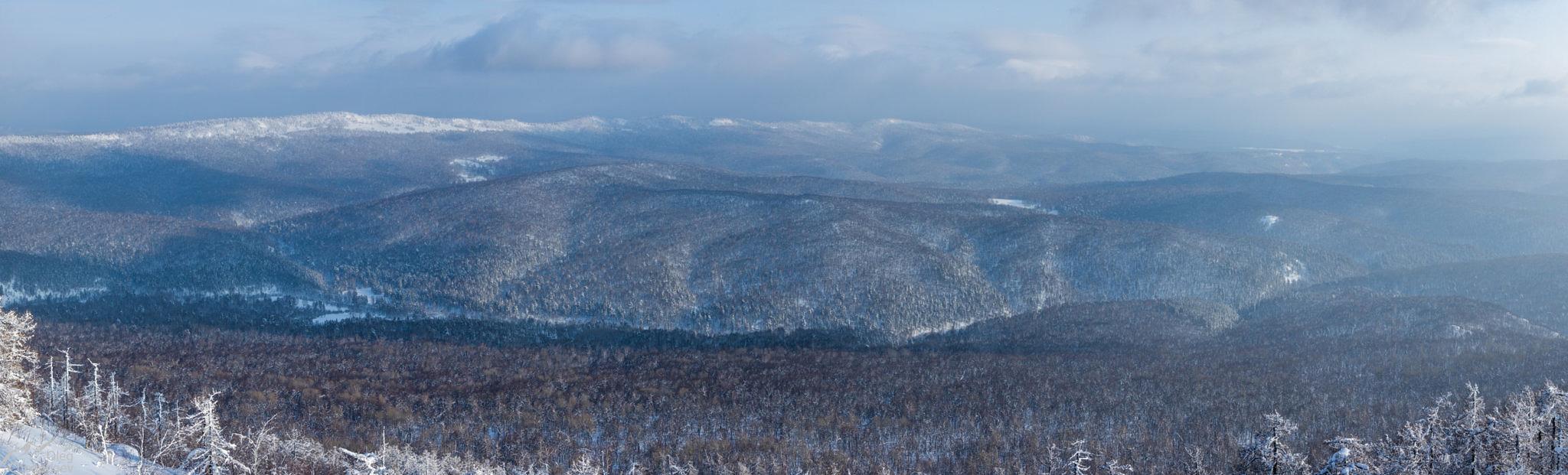 Долина реки Курыгас с горы Масим