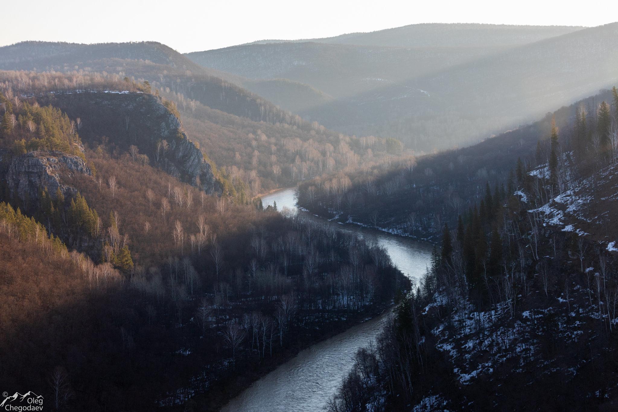 рассвет в национальном парке Башкирия