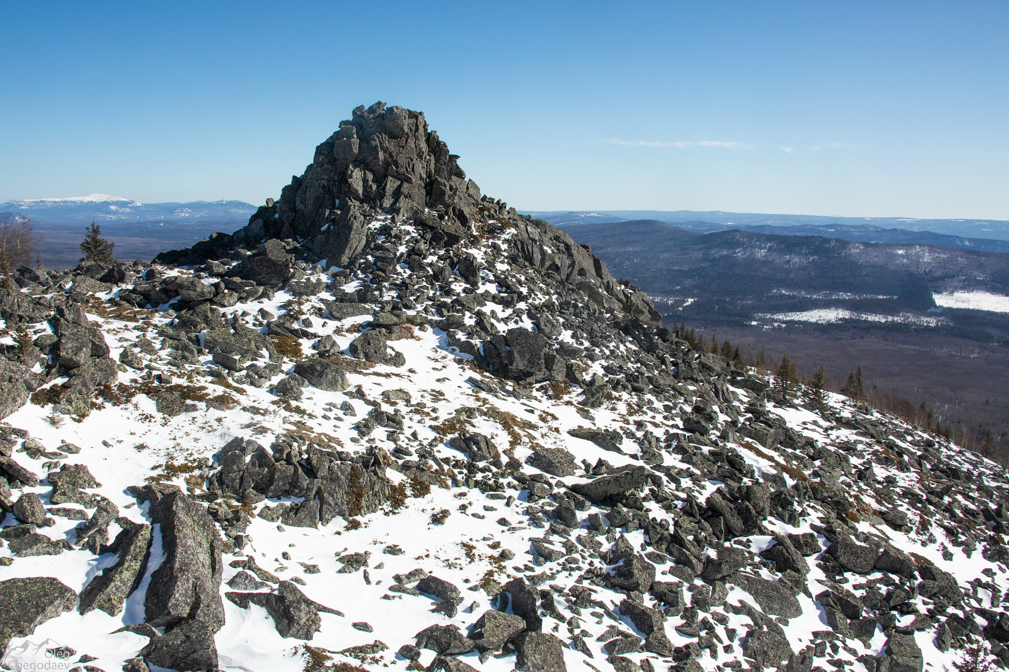 Еще одна вершина горы Медвежья (Кумардак)