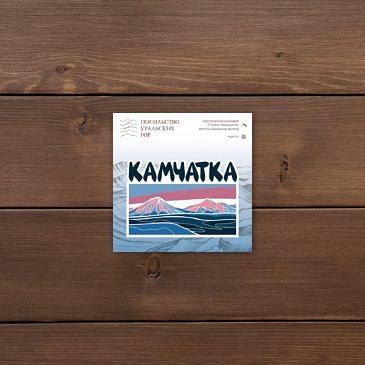 Наклейка Камчатка