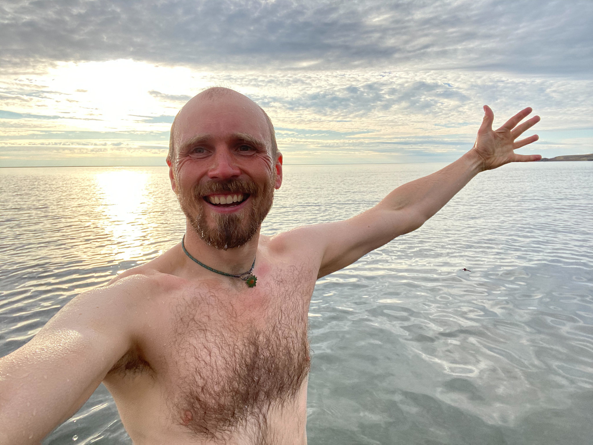 купание в карском море