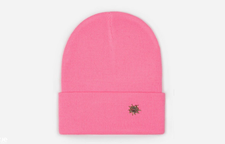 розовая-эдельвейс