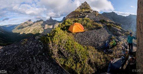Стоянка на перевале Тайгиш 2
