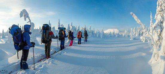 Лыжный поход. Севереный Урал