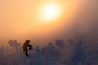 Рассвет на северном Урале